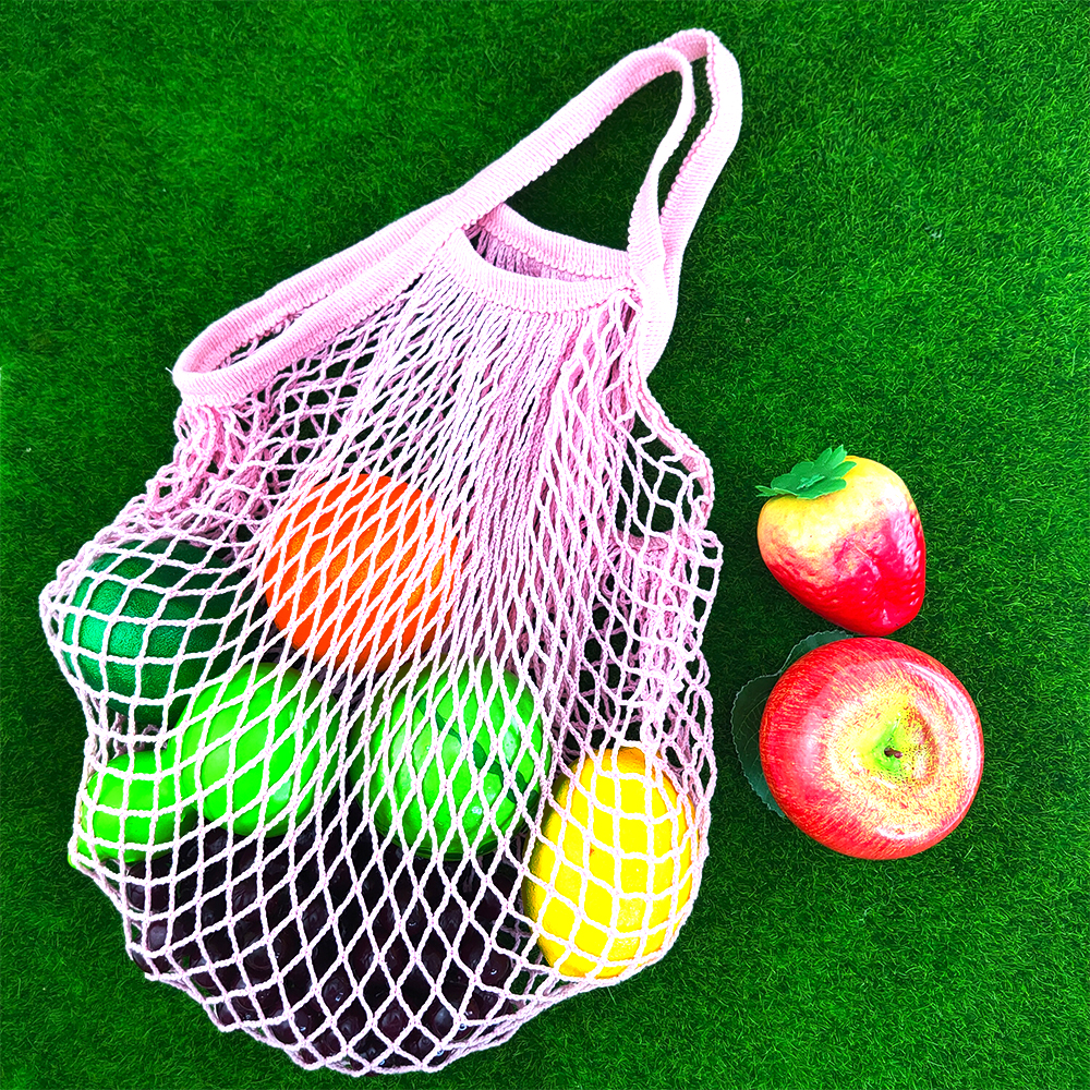 Household shopping bag, female bag, portable environmental protection bag, hollow fruit and vegetable grocery shopping bag