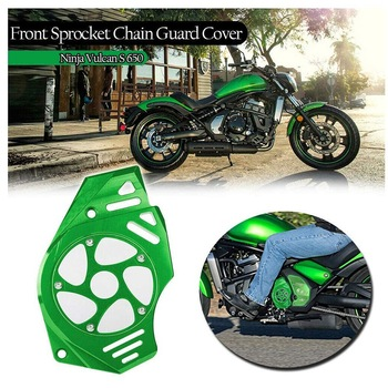 Front Sprocket Chain Guard Cover Engine Slider for Kawasaki Ninja 400 650R Vulcan S 650 EN650 KLE650 ER-6/N 2006-2016
