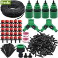 Наборы капельного орошения для сада KESLA  5 м-50 м  регулируемые капельницы для полива  система капельного орошения для теплицы