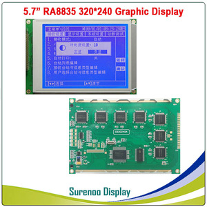 """Image 2 - 5.7"""" 320X240 320240 Graphic LCD Module Display Panel Screen LCM with RA8835 Controller Blue White LCD with LED Backlight"""