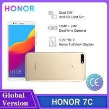 Honor original 7c/7x/7a/7s 2 + 16/3 + 32/4 + 64gb lte smartphone 5.99