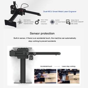 Image 3 - 2020 جديد NEJE Master 2 20 واط سطح المكتب باستخدام الحاسب الآلي حفارة الليزر المحمولة لتقوم بها بنفسك آلة نحت النقش القطع بالليزر آلة الحفر