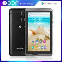 7 pulgadas Android 4,4 llamada de Teléfono móvil Tablet Pc Quad Core 1GB + 16GB tarjeta Sim Tablet Pc más barato y opción de Color Simple tab