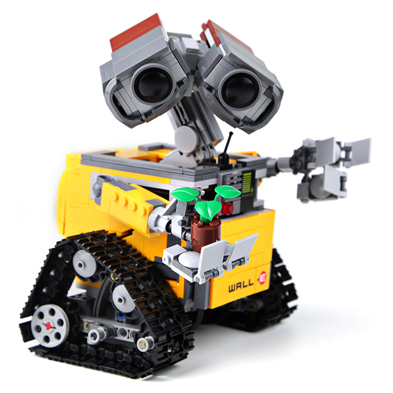 Wall-E Robot Wally building blocks model children building bricks toy christmas gift for kids free shipping
