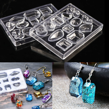 1pcs  Pendant Earring Geometric Silicone Mold For Resin Craft Making Tool Handmade Decoration Epoxy Jewelry
