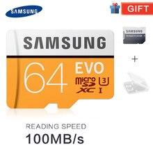 SAMSUNG Micro SD Speicher Karte 32G 64G 128G tf MicroSD Karten SDHC SDXC Max 95 Mt/s EVO 32GB 64GB 128gb C10 TF Trans Flash Micro Karte