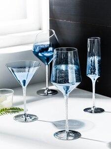 Стеклянная чашка для вина звездное небо, Кубок для шампанского, стеклянные бокалы для домашнего питья, Коктейльная стеклянная посуда для ба...