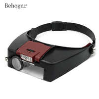 Lupa Behogar microscopio lupa Lupas Con Luz LED lectura o reparación uso