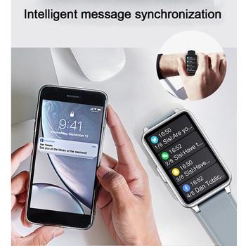 2021 Smart Watch Men 1.57inch Full Touch Heart rate Monitor Sport Fitness IP67 Waterproof Bluetooth Answer Call Smartwatch Women 4