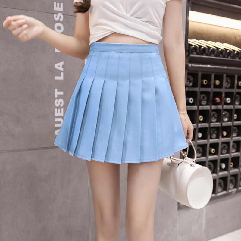 Frauen Mädchen Gefaltete Skorts Mädchen Tennis Rock Mit Inneren Shorts Schule Uniformen Dance Rock Hight Taille Golf Yoga Badminton Kleid