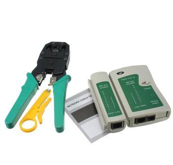 PC Networking Werkzeug Tragbare LAN Network Tool Kit Utp Kabel Tester UND Zange Crimp Crimper Zange Mit Stecker Draht Stripper Clamp