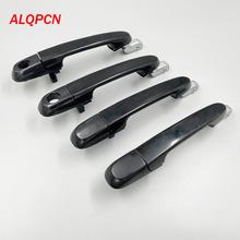 Przednia i tylna klapka zewnętrzna czarna dla hyundai Accent 2006-2011 tanie tanio