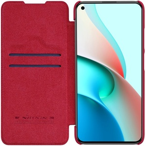 Image 4 - For Xiaomi Redmi Note 9T 5G Flip Case Nillkin Qin Leather Flip Cover Card Pocket Wallet Book Cases For Redmi 9T Note9T Phone Bag
