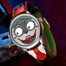 Joker Watch Men Top Brand Luxury Fashion Personality Alloy Quartz