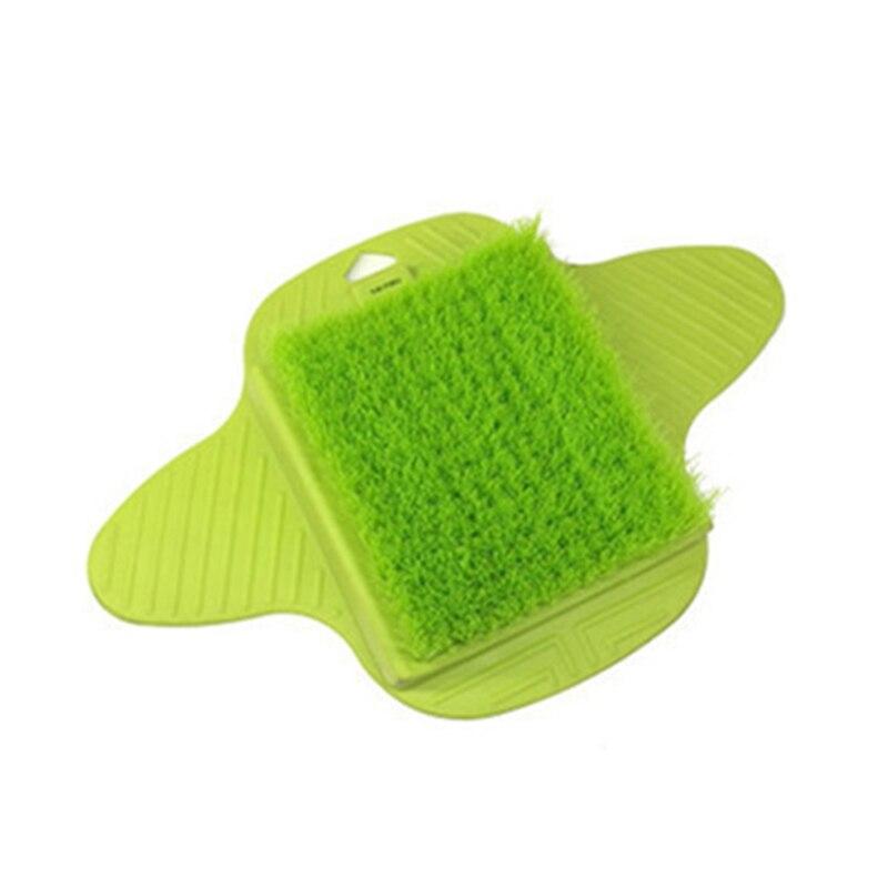 sapato de banho pés massagem chinelos escova