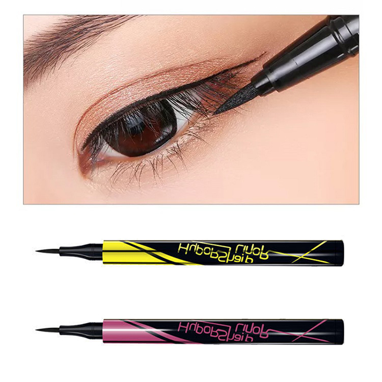 Quick Drying Eye Liner Pencil 1Pcs Black Not Blooming Waterproof Anti-stain Lasting Eyeliner Beauty Eye Makeup Cosmetics TSLM1