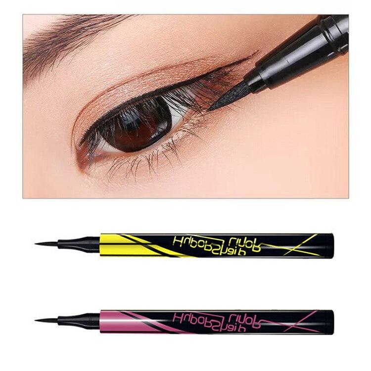 Quick Drying Eye Liner Pencil 1Pcs Black Not Blooming Waterproof Anti-stain Long Lasting Eyeliner Women Makeup Tools TSLM