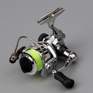Image 1 - Emmbar Mini100 صنارة صيد الأسماك 2 + 1BB 4.3: 1 صنارة معدنية لصيد الأسماك صنارة صيد الأسماك بكرة دوارة صغيرة