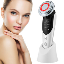 7 in 1 RF&EMS Micro Current Lifting Device Vibration LED Face Skin Rejuvenation Wrinkle Remover Anti-Aging Facial Beauty Device