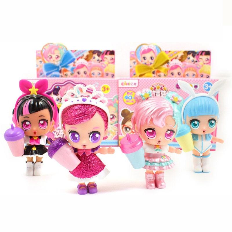 Original Eaki Genuine Diy Lol Doll Ball Kids Toy With Box Puzzle