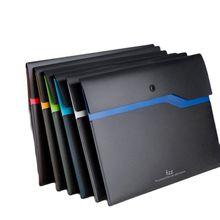 Fizz การจัดเก็บผลิตภัณฑ์ A4ผู้ถือแฟ้ม Organizer 2ชั้นขนาดใหญ่ความจุเอกสารกระเป๋าธุรกิจกระเป๋าเอกสาร Office Supply