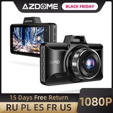 AZDOME FHD 1080P Dash Cam 3 Inch Đầu Ghi Hình Ô Tô Chạy Đầu Ghi Nhìn Ban Đêm Công Viên Màn Hình, cảm Biến G, Ghi Hình Vòng Lặp Cho Uber M01 Pro