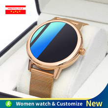 E 10 Ultra Thin Smart Watch Women Custom Dial Full Touch Screen Bluetooth Sports Fitness Tracker Smartwatch For Android IOS