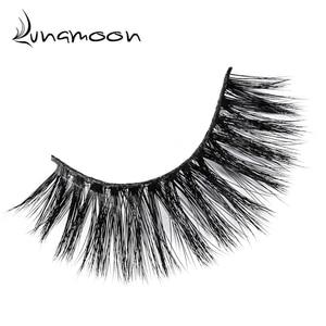 Image 3 - 3D Mink Hair sztuczne rzęsy naturalne/grube długie rzęsy Wispy Makeup Beauty Extension Tools