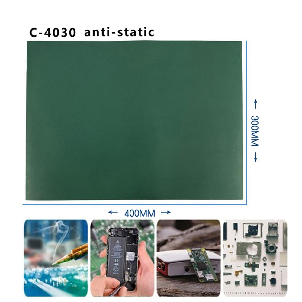 Heat Insulation Working Mat Heat-resistant BGA Soldering Station Repair Insulation Pad Insulator Pad Maintenance Platform ESD