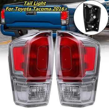 1 pieza de luz trasera de freno de 12V, lámpara roja de luz trasera para camioneta Toyota Tacoma 2016 2017 2018 2019 L 81560-04190,R 81550-04190