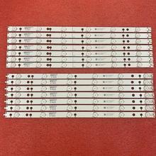 14 PCS striscia di retroilluminazione a LED per 49PUS6401 48pus6581 49PUH6101 49PUS6561 49PUS6501 LB49016 V1_00 01N21 01N22 A TPT490U2 EQLSJA.G