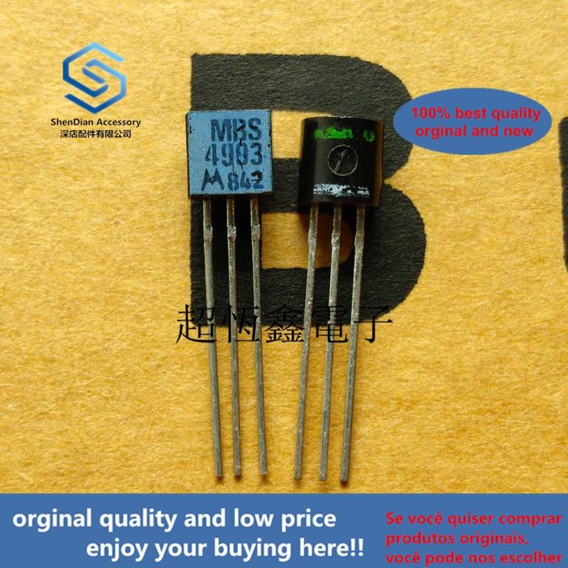 1pcs 100% Orginal New MBS4993 4993 Silicon Bidirectional Switches Real Photo