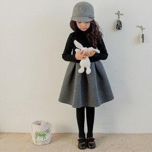 Image 5 - 2020 新秋ブランドのベビー子供ボールガウンドレス子供コットンドレス幼児長袖ドレス、 #3246