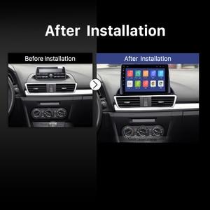 Image 5 - Rádio do carro de seicane android 9.0 2din reprodutor de vídeo multimídia gps para mazda 3 axela 2013 2018 suporte swc dvr obd wifi espelho link