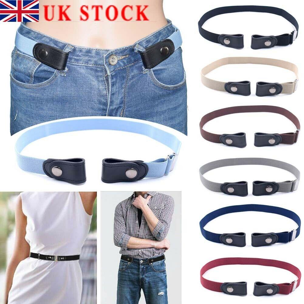 Hot sale women's punk style buckle-free   belt   dress ladies slim sports trend comfortable elastic new no buckle   belt