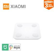 XIAOMI MIJIA YUNMAI Body Fat Scale mini2 Smart electronic digital Bathroom floor weight Scale Mihome APP LED screen Up to 150kgموازين الحمام
