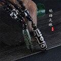 Подвеска Nine Eye Тибет Dzi Drop Ожерелье-чокер из натурального камня модный стиль тибетский Небесный бисер приносит удачу