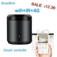Broadlink RM Mini3 Universal Intelligent WiFi/IR/4G Wireless IR Remote Controller Via IOS Android Smart Home Automation 2019 New 2019 broadlink rm03 rm pro rm3 pro automation smart home wifi ir rf 4g intelligent universal remote control for ios android
