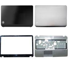 Новая Оригинальная задняя крышка ЖК-дисплея ноутбука/Передняя панель ЖК-дисплея/клавиатура для HP Envy Pavilion M6 M6-1000 728670-001 686895-001, серебристо-черн...