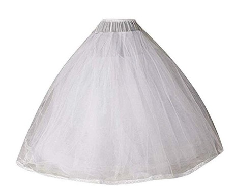Simple Ball Gown & A Line Petticoat