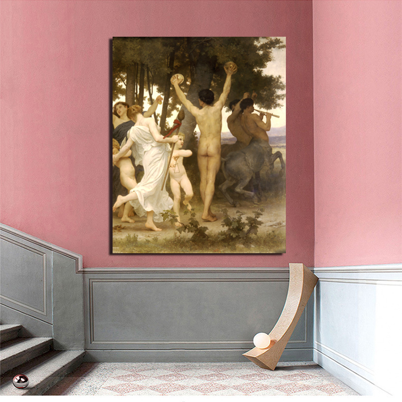 Aestheticism HD Famous Painting  Canvas Print Living Room Home Decoration Modern Wall Art Oil Posters Pictures