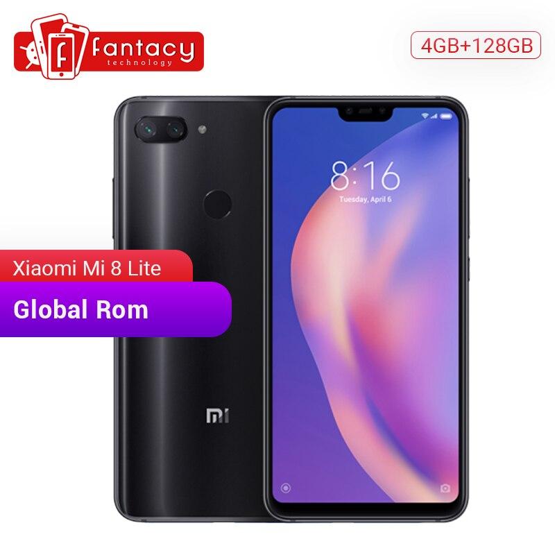 Global Rom Xiaomi Mi 8 Lite 128GB ROM 4GB RAM Snapdragon 660 AIE Octa Core 6.26