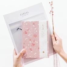 2020 Nieuwe leuke bloem serie hardcover kleurrijke cartoon agenda planner organizer/dagboek wekelijkse planner notebook briefpapier A5