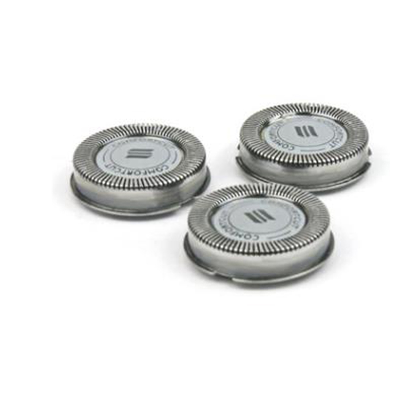 3Pcs Shaving Razor Replacement Blade Shaver Heads for S1000 S1020 S1050 S1070 S526 S740 Shaving Head Cutter