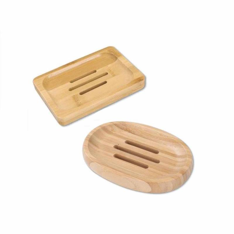 Soap Box Wooden Drain Soap Holder Box Bathroom Shower Soap Holder Dish Storage Plate Tray Bathroom Supplies Kitchen Accessories