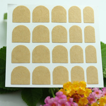 20sheets Sticky False Nail Tips Double Sided Adhesive Tapes Stickers Fingernail  Art Tape
