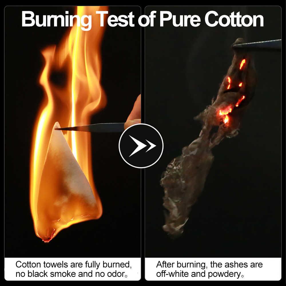 Cofoe 100% Cotton Nguyên Chất Khăn Rửa Tái Chế Mềm Vệ Sinh Làm Đẹp Khăn Ướt Và Khô Kép Sử Dụng Mềm Mại Khăn Mặt Cho Bé chăm Sóc Làm Sạch Khăn Lau
