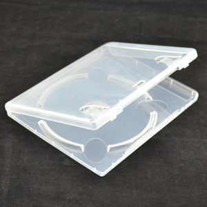 Image 2 - 10 pcs CD DVD Disc Plastic Case Capacity Disc CD Storage Box for PS3