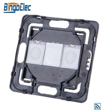 Bingoelec フルレンジ diy パーツ 1 ギャング 1 vl 制御光スイッチ部分なしガラスパネル