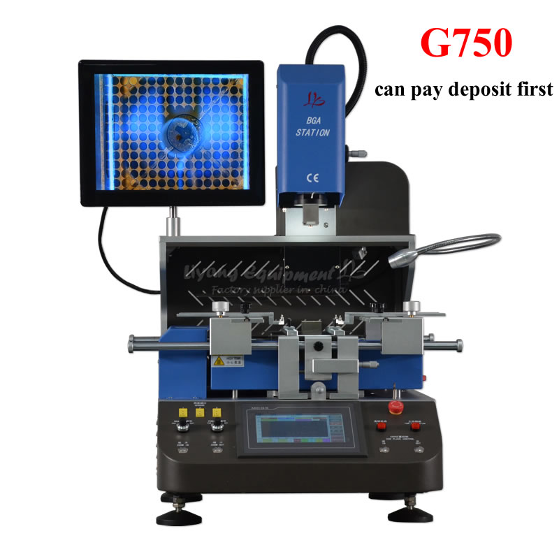 BGA Rework Station G750 Automatic Align System 5200w For Reparing Laptops Game Consoles And Mobile Phone